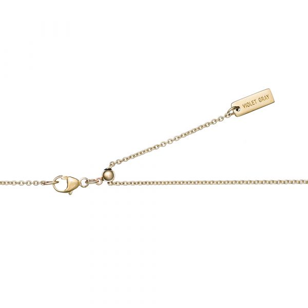Gold Chain, Adjustable, Solid Gold