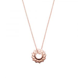 Crown Chakra, Rose Gold, Necklaces