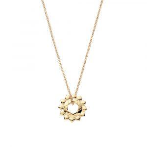 Heart Chakra, Necklace, Gold, Jewellery