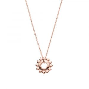 Heart Chakra, Necklace, Rose Gold, Jewellery