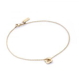 Base Chakra, Bracelet, Gold Jewellery