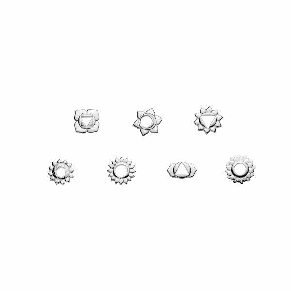 Chakra Kit, Silver, Charms, Jewellery