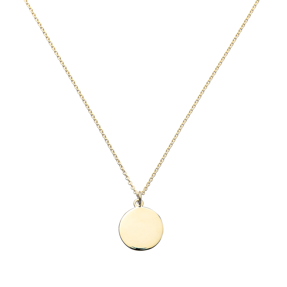 plated melanie chloe layered gold necklace products wish cate pendant jewelry piece