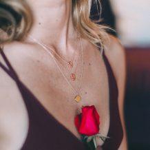 Blank Pendant, Gold Necklace, Jewellery