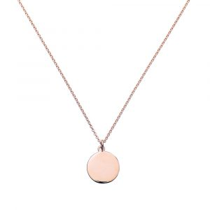 Blank Pendant, Rose Gold Necklace, Jewellery