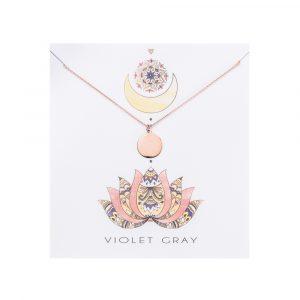 Blank Pendant, Rose Gold Necklace, Jewellery