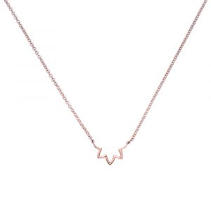 rose gold lotus necklace, Online, Rose Gold Jewellery, Necklace