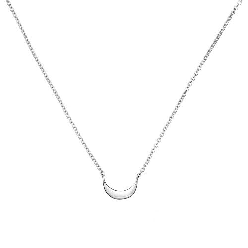 Online, Moon Necklace, Silver, Jewellery