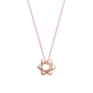 Sacral Chakra, Necklace, Rose Gold, Jewellery, Online