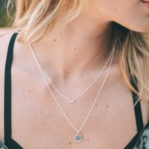 Blank Pendant, Silver Necklace, Jewellery