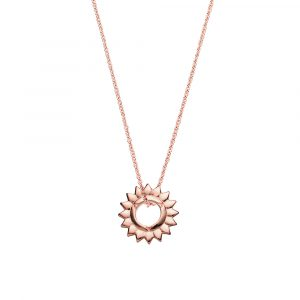 Throat Chakra, Necklace, Rose Gold, Online