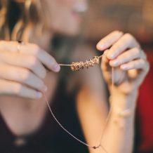 Chakra charms, Rose Gold, Jewellery