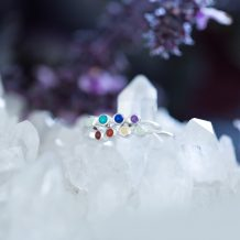 Chakra Rings, Crystal Rings, Silver Jewellery