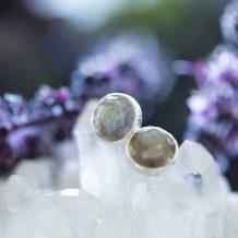 Labradorite Earrings, Silver Jewellery