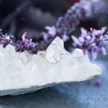 Rose Quartz Ring, Love Heals, Jewellery