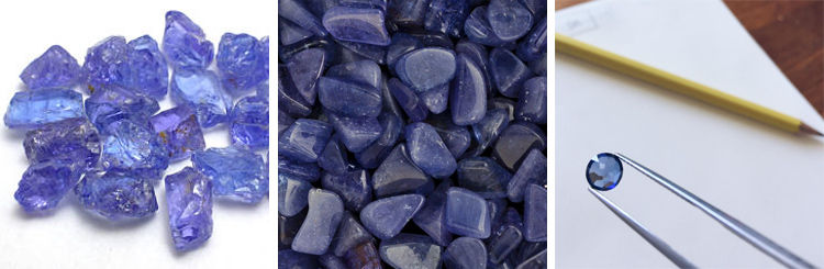 Tanzanite, Purple Crystal, Stone