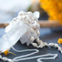 Handmade Tulsi necklace