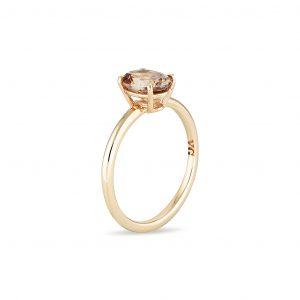 Zircon Gold Ring, Engagement Ring, Online Jewellery