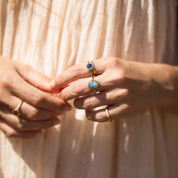 Opal RIng, Violet Gray