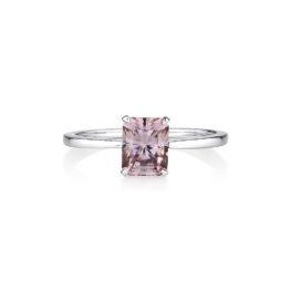 Zircon Gold Ring, Engagement Ring, Online Jewellery