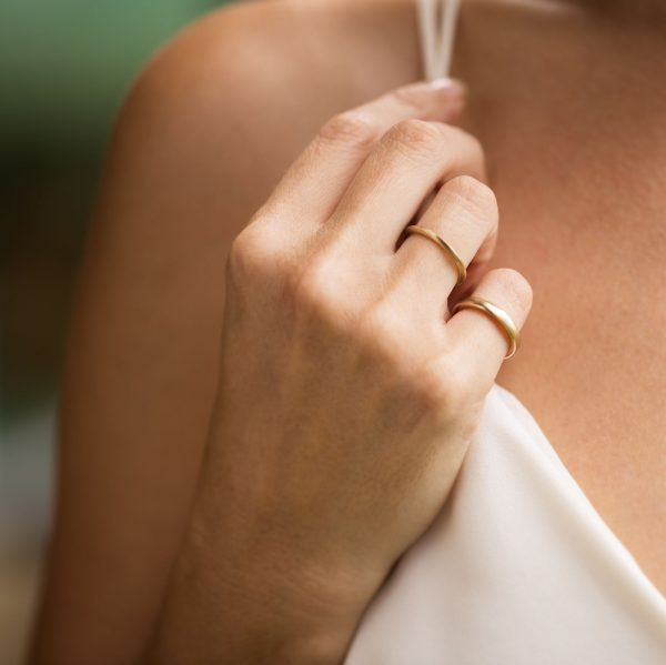 Gold Pinky Ring