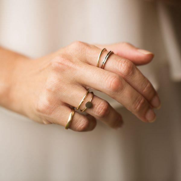 Fine Gold Rings