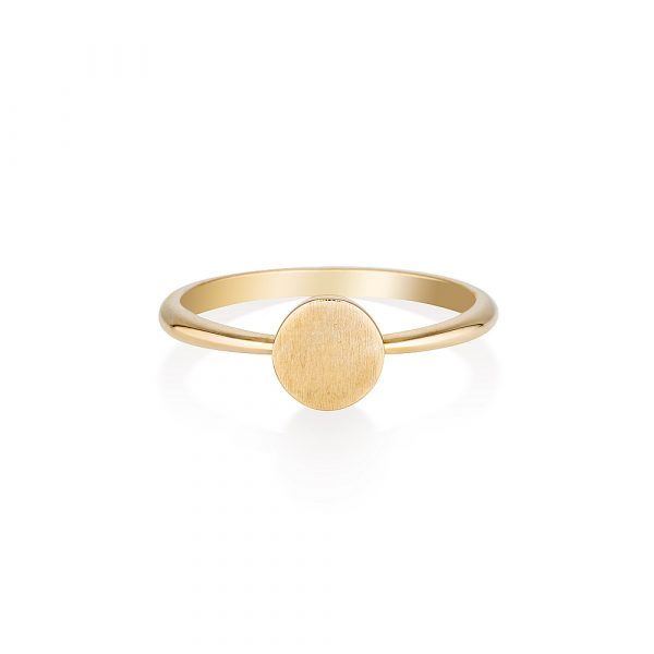 Signet Ring, Gold Ring, Online Jewellery