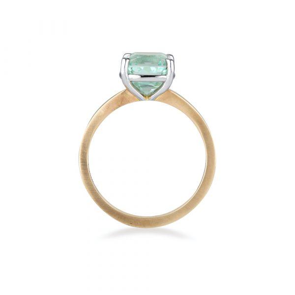 Ice Blue Tourmaline Ring