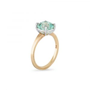 Ice Blue Tourmaline Ring