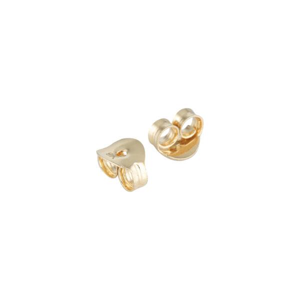 9kt Gold Earrings Backs