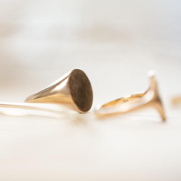 Gold Signet Ring